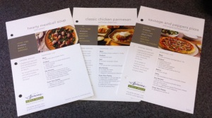 Publix Recipe Cards