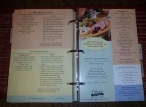 Publix recipe book inside