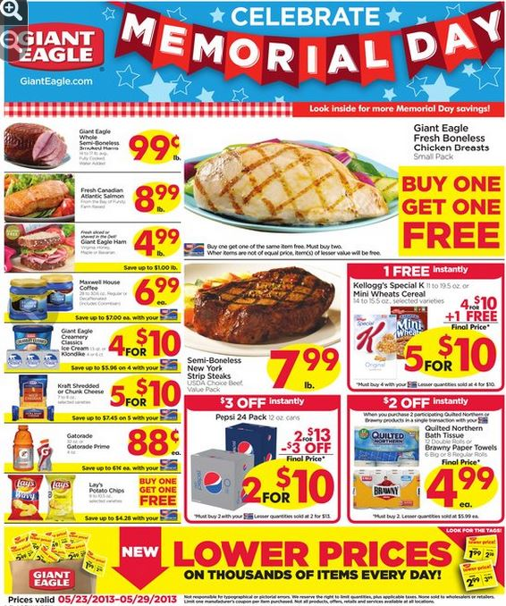 giant eagle memorial ad
