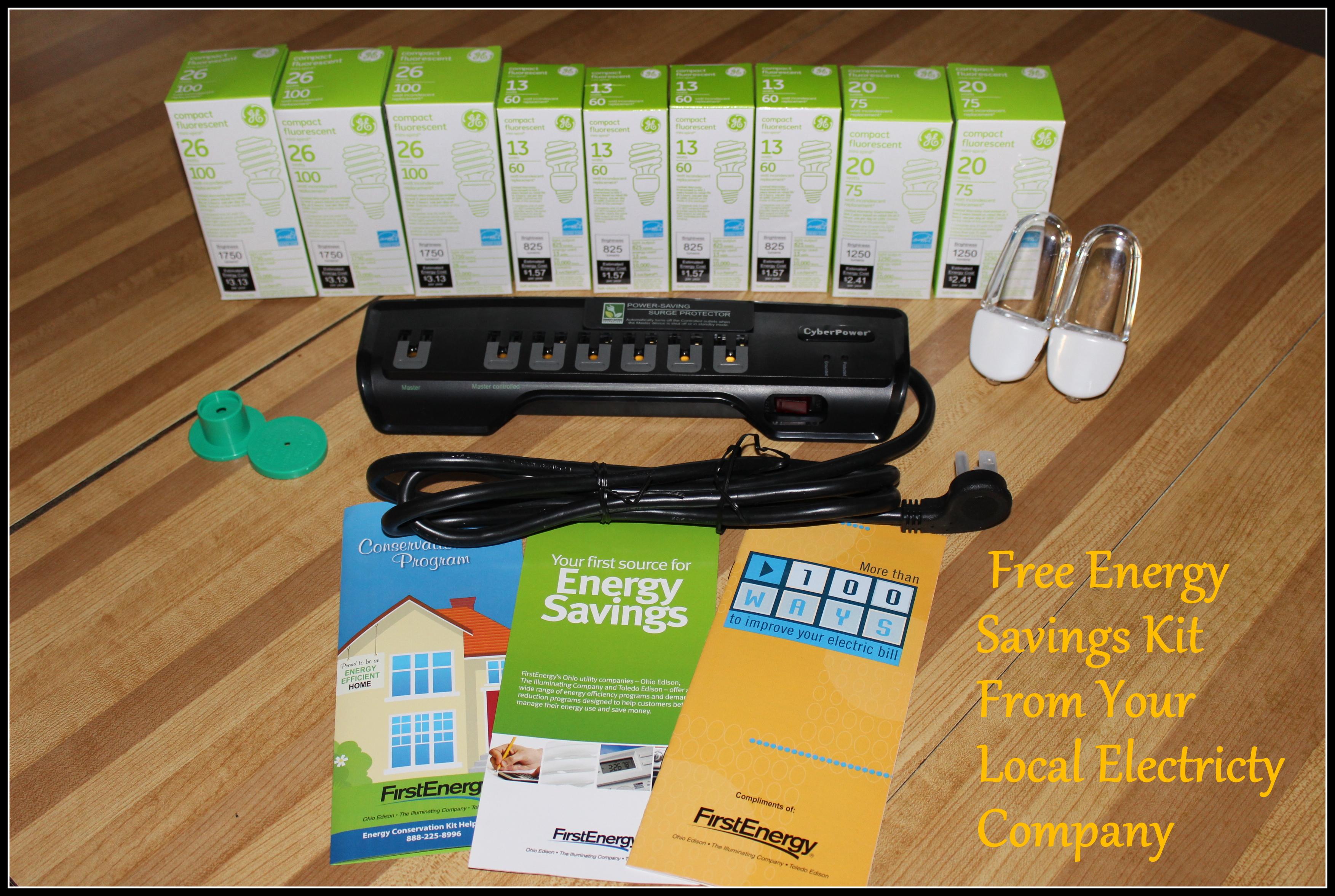 Freebies r us for Energy efficiency kit