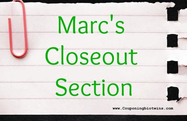 marcs closeout graphic
